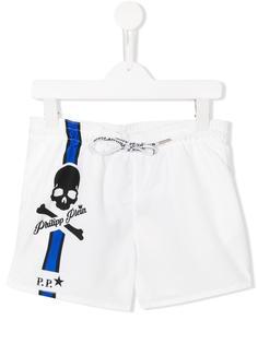 пляжные шорты White Sand Philipp Plein Junior