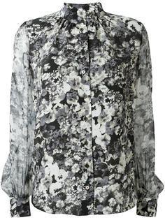 рубашка с цветочным принтом  Lanvin