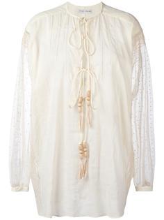 рубашка с вышивкой Veronique Branquinho