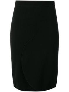 юбка-карандаш с закругленным подолом Givenchy