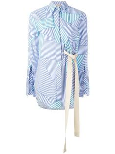 блузка Payton в полоску  Erika Cavallini