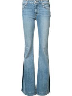 расклешенные джинсы с полосами по бокам Derek Lam 10 Crosby