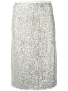 юбка с отделкой металлик Vanessa Bruno