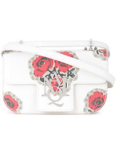сумка через плечо с принтом Insignia  Alexander McQueen