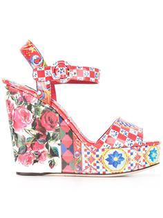 босоножки Bianca на танкетке Dolce & Gabbana