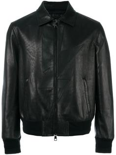 куртка с аппликацией молнии  Neil Barrett