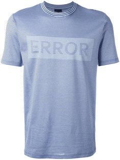 """футболка с принтом """"Error"""" Lanvin"""