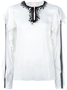 блузка с рюшами Giamba