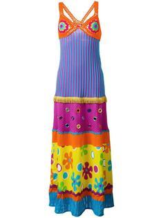 платье с принтом Moschino