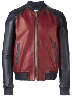 куртка-бомбер колор-блок Dsquared2