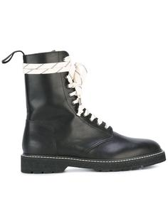 ботинки на шнуровке  Maison Margiela