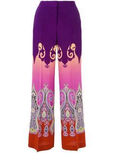 широкие брюки с принтом Marrakesh  Etro