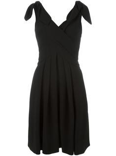 платье с V-образным вырезом Moschino