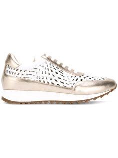 кроссовки с вырезными деталями Loriblu