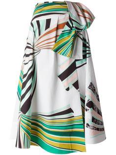 юбка с абстрактным принтом Emilio Pucci