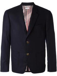 пиджак с накладными карманами Thom Browne