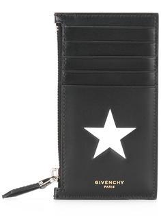 визитница с отделением на молнии Givenchy