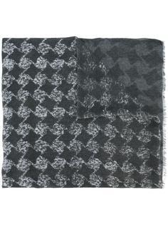 шарф с геометрическим узором John Varvatos
