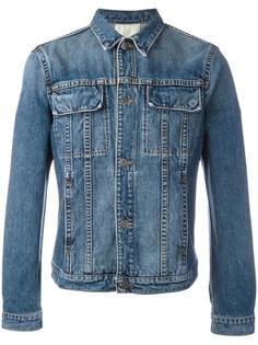 джинсовая куртка с карманами с клапанами Helmut Lang