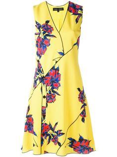 платье без рукавов с цветочным рисунком Proenza Schouler