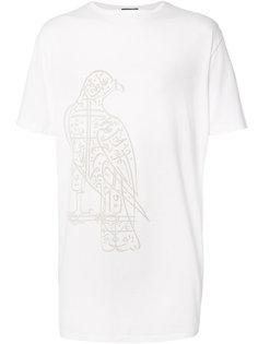 футболка с принтом орла Thamanyah