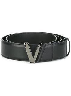 ремень с V-образной пряжкой Versace