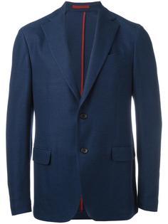 пиджак в спортивном стиле с фактурным узором Salvatore Ferragamo