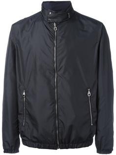двухсторонняя куртка с узким воротником-стойкой Salvatore Ferragamo