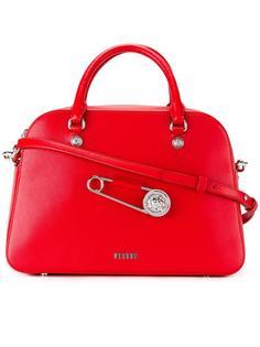 сумка-тоут с декоративной булавкой Versus