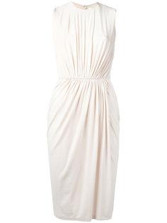 платье-шифт с присборенной деталью Givenchy