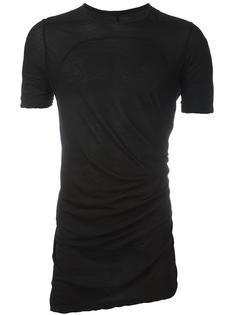 футболка кроя слим Rick Owens DRKSHDW