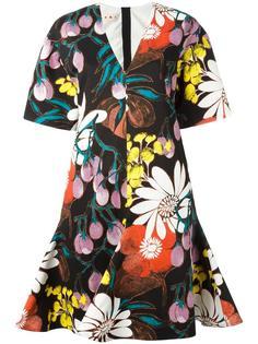 платье с принтом Madder  Marni