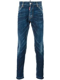джинсы с имитацией заломов Cool Guy Dsquared2