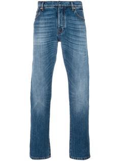 декорированные джинсы  Valentino