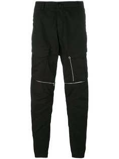 спортивные брюки с молниями Stone Island Shadow Project