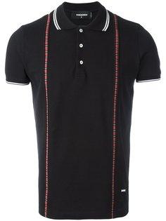 рубашка-поло с контрастной отделкой Dsquared2