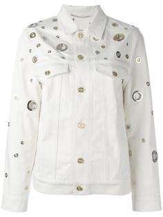 джинсовая куртка с декоративными люверсами Kenzo