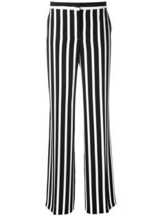 полосатые широкие брюки  Alberta Ferretti