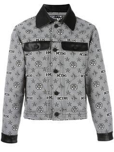 куртка с узором-монограммой KTZ