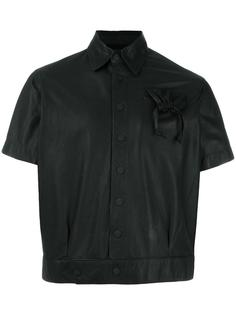 укороченная куртка с карманом на завязках KTZ