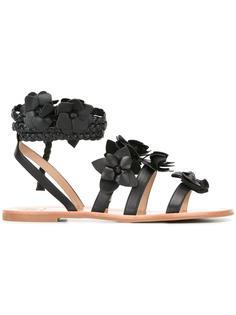 сандалии-гладиаторы Blossom Tory Burch