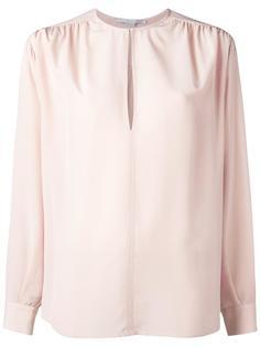 рубашка с прорезью спереди Stella McCartney