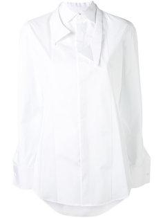 рубашка с двухслойным воротником Dsquared2
