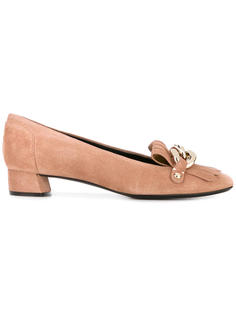 туфли с бахромой Casadei