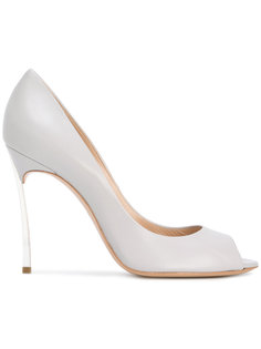 туфли с открытым носком Casadei