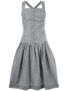 расклешенное платье в клетку Vivienne Westwood Anglomania