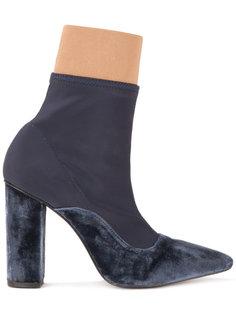 ботинки с заостренным носком Lalo