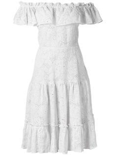 off-the-shoulder dress Isolda