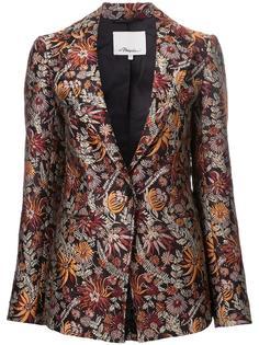 пиджак с цветочным принтом 3.1 Phillip Lim