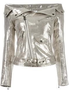 байкерская куртка с блестящей отделкой Faith Connexion